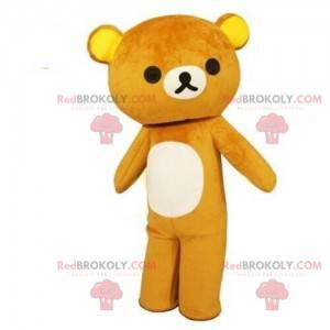 Maskot medvídka, kostým medvěda, hnědého medvídka -