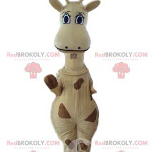 Mascote de girafa, fantasia de Melman, girafa do filme
