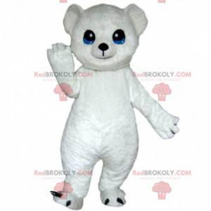 Maskot ledního medvěda, kostým bílého medvídka - Redbrokoly.com