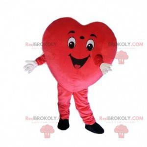 Kostým obří srdce, kostým červené srdce, velké srdce -