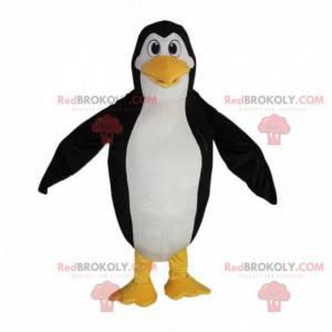 Gigantisk pingvin maskot, svart og hvit pingvin kostyme -