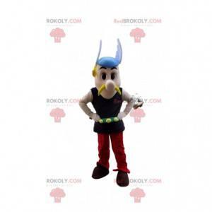 Mascote Asterix, famoso gaulês em Asterix e Obelix -