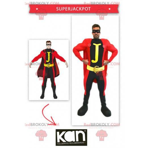 Superjackpot mascot - Casino mascot - Redbrokoly.com