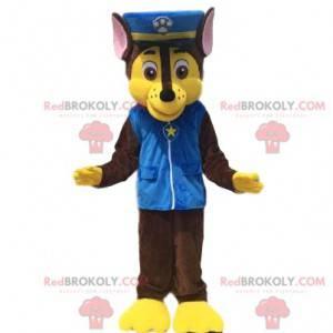 Maskot psa, kostým psa oblečený jako policista - Redbrokoly.com
