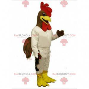Kuřecí maskot, kostým slepice, kostým kohouta - Redbrokoly.com