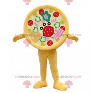 Mascote da pizza, fantasia de pizza, fantasia de pizzaiolo -