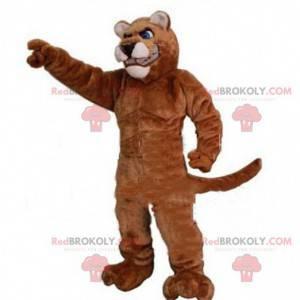 Maskot svalnatý tygr, sportovní kočičí kostým - Redbrokoly.com