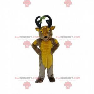 Deer mascot, reindeer costume, caribou costume - Redbrokoly.com