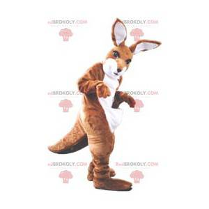 Brun og hvit kenguromaskott - Redbrokoly.com