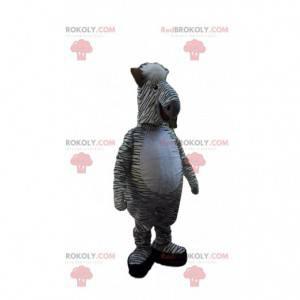 Mascota cebra, disfraz de caballo, animal de sabana -