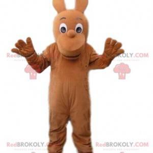Brun karakter maskot, brun skapning kostyme - Redbrokoly.com