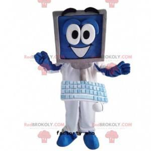 Computer mascot, computer costume, computing - Redbrokoly.com