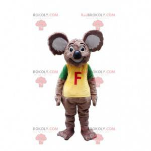 Mascote coala cinza, fantasia Austrália, animal australiano -