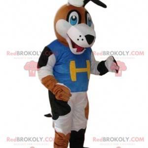 Sporthund Maskottchen, Team Kostüm, Unterstützer Maskottchen -