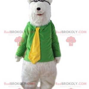 Eisbärenmaskottchen, Weißbärenkostüm, Teddybär - Redbrokoly.com