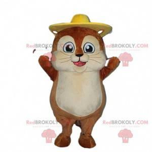 Krtek maskot, křeček kostým, hlodavec kostým - Redbrokoly.com