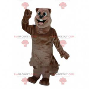 Giant beaver mascot, rodent costume, river costume -