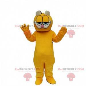 Garfield Maskottchen, berühmte Karikaturorangenkatze -