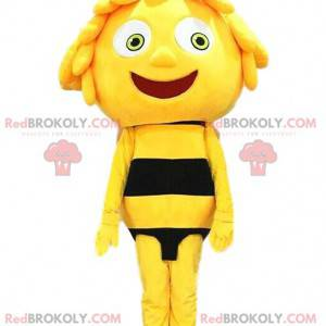 Maya maskot slavné kreslené včely - Redbrokoly.com