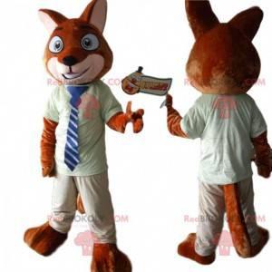 Maskottchen Nick Wilde, berühmter Fuchs in Zootopia -