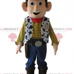 Maskot af Woody, den berømte sheriff og legetøj i Toy Story -