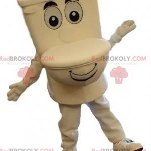 Kjempetoalett maskot, toalettdrakt, lite hjørne - Redbrokoly.com