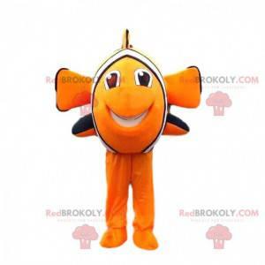 Nemo mascot, the famous cartoon clownfish - Redbrokoly.com