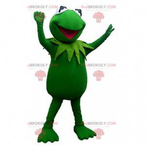 Maskottchen von Kermit, dem berühmten fiktiven grünen Frosch -