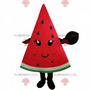 Riesiges Wassermelonenscheiben-Maskottchen, Wassermelonenkostüm