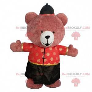 Maskot nafukovacího medvěda, 3metrový kostým asijského medvěda
