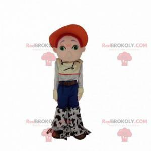Mascote Jessie, amiga cowgirl de Woody em Toy Story -
