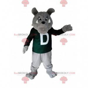 Bulldog mascot, dog costume, naughty dog - Redbrokoly.com