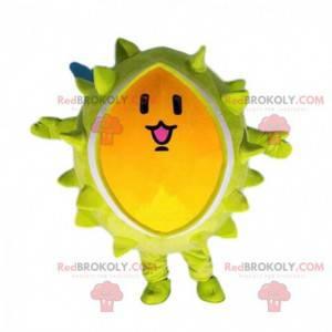 Maskotka Durian, gigantyczny żółty owoc - Redbrokoly.com
