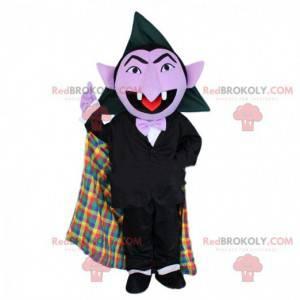 Maskot upírů, kostým Dracula, kostým Halloween - Redbrokoly.com