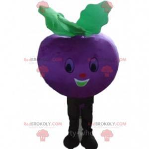 Maskot řepy, tuřín, fialová zelenina - Redbrokoly.com