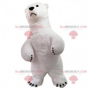 Aufblasbares Eisbärenmaskottchen, Eisbärenkostüm -