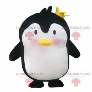 Nadmuchiwana maskotka pingwina, kostium pingwina olbrzymiego -