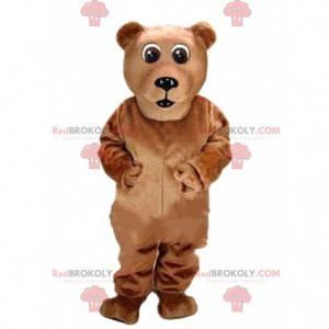 Maskot medvěd hnědý, kostým obří medvídek - Redbrokoly.com