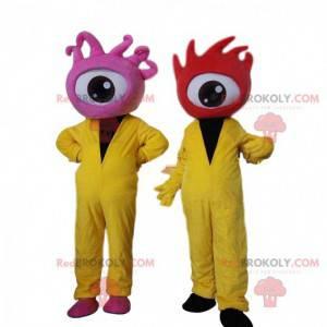 Augenmaskottchen, außerirdische Kostüme, Zyklopen -