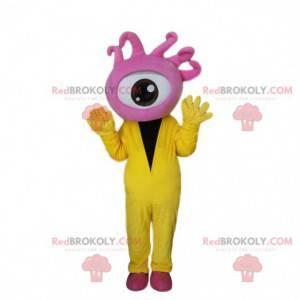 Giant pink eye mascot, cyclops costume - Redbrokoly.com