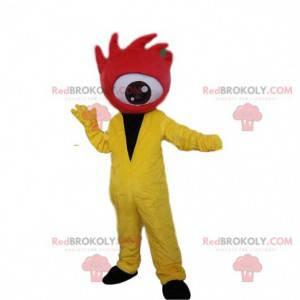 Gigantyczna maskotka czerwonych oczu, kostium Cyklopa -