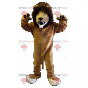 Giant lion mascot, feline costume, zoo costume - Redbrokoly.com