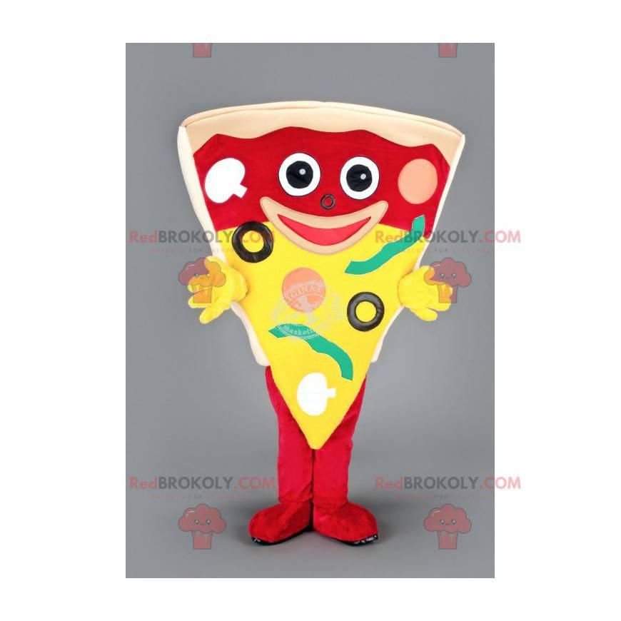 Maskotka gigantyczny kawałek pizzy - Redbrokoly.com