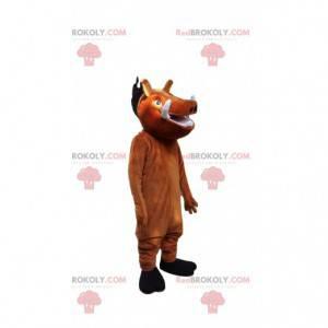 """Mascote de Pumba, o famoso javali do filme """"O rei leão"""" -"""