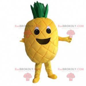 Gelbes Ananaskostüm, Ananaskostüm, exotische Frucht -
