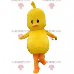 Mascot yellow chick, giant yellow bird costume - Redbrokoly.com