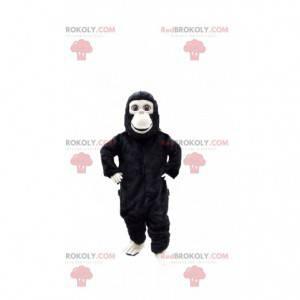 Mascote de chimpanzé, fantasia de macaco, fantasia de gorila -