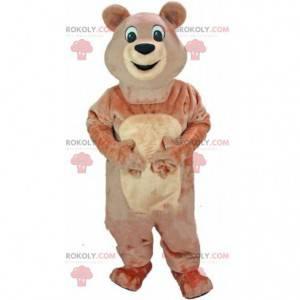 Maskot medvěd hnědý, kostým medvídka - Redbrokoly.com