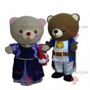 Middelalderens bamse maskoter, ridderkostymer - Redbrokoly.com