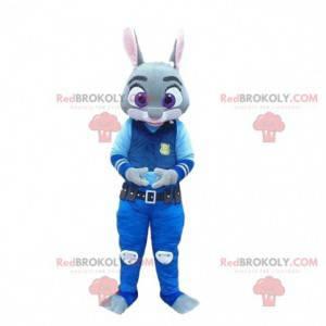 Maskottchen Judy Hopps, berühmtes Polizeikaninchen in Zootopia